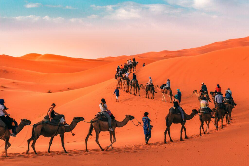 3 nights camel ride Merzouga