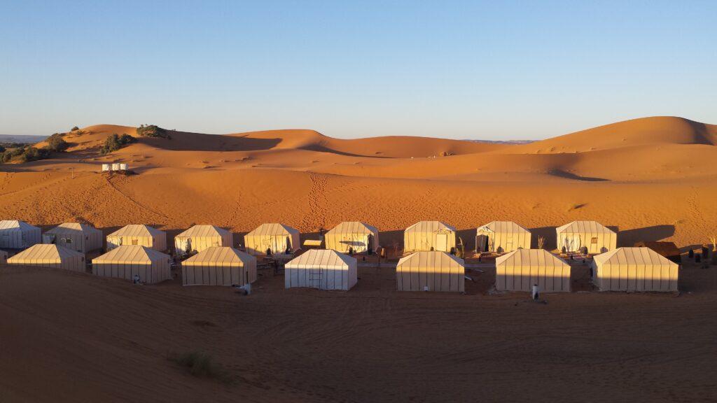 Merzouga luxury desert camp